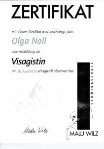 Olga Noll Visagistin